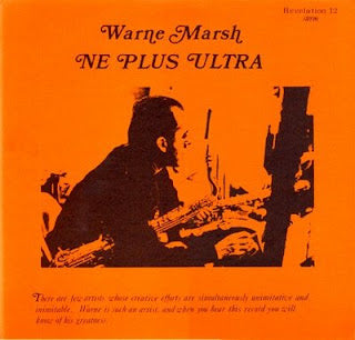 Warne Marsh - Ne Plus Ultra