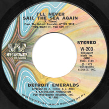 Load image into Gallery viewer, Detroit Emeralds ‎– Baby Let Me Take You (In My Arms) / I'll Never Sail The Sea Again