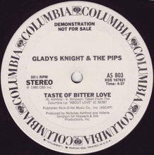 Load image into Gallery viewer, Gladys Knight & The Pips ‎– Taste Of Bitter Love / Bourgie', Bourgie' 12""