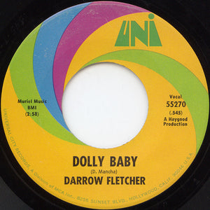Darrow Fletcher ‎– What Is This / Dolly Baby
