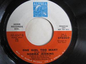 Norma Jenkins ‎– Go Home To Your Wife / One Girl Too Many