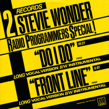 Load image into Gallery viewer, Stevie Wonder - Do I Do 12""