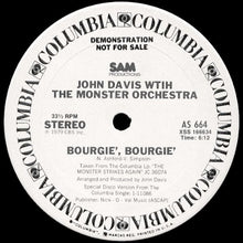 Load image into Gallery viewer, John Davis With The Monster Orchestra ‎– Bourgie', Bourgie' 12""