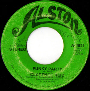 Clarence Reid ‎– Winter Man / Funky Party