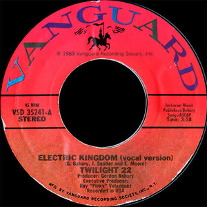 Twilight 22 ‎– Electric Kingdom (Vocal + Instrumental)