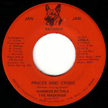 Load image into Gallery viewer, Harmon Bethea The Maskman / The Maskman's Band ‎– Prices And Crisis