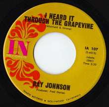Load image into Gallery viewer, Ray Johnson ‎– Funky Way / I Heard It Through the Grapevine