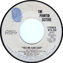 Load image into Gallery viewer, The Pointer Sisters ‎– Yes We Can Can / Jada