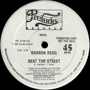 Sharon Redd ‎– Beat The Street 12""