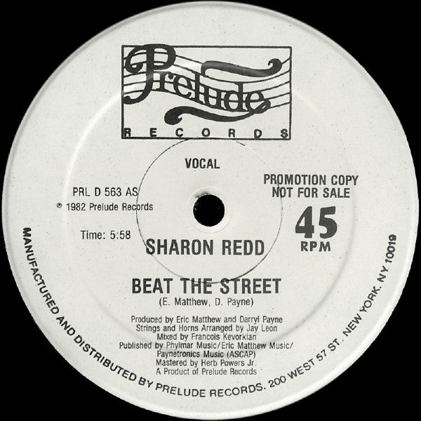Sharon Redd ‎– Beat The Street 12