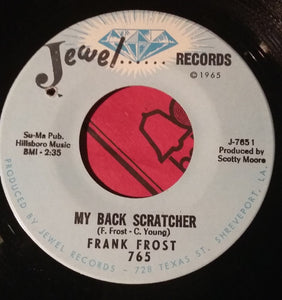 Frank Frost ‎– My Back Scratcher / Harp And Soul