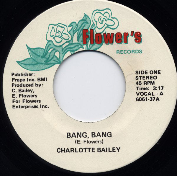 Charlotte Bailey ‎– Bang Bang