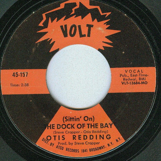 Otis Redding ‎– (Sittin' On) The Dock Of The Bay / Sweet Lorene