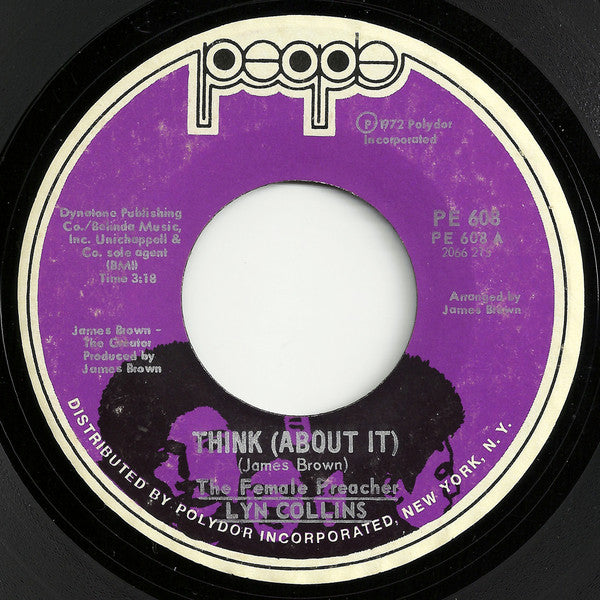 Lyn Collins ‎– Think (About It) / Ain't No Sunshine