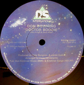 Don Downing - Doctor Boogie 12""