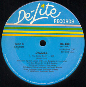 Dazzle ‎– Walk Before You Run / You Dazzle Me!!!
