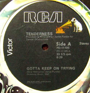 Tenderness - Gotta Keep On Trying 12""