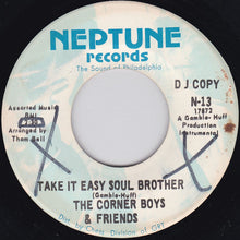 Load image into Gallery viewer, The Corner Boys  ‎– Gang War (Don't Make No Sense) / Take It Easy Soul Brother