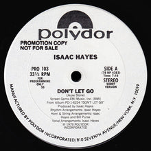 Load image into Gallery viewer, Isaac Hayes - Don't Let Go 12""