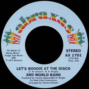 3rd World Band ‎– Disco Hop / Let's Boogie At The Disco