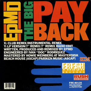 EPMD - The Big Payback 12""