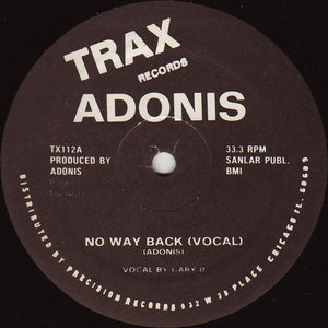 Adonis ‎– No Way Back