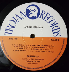 Bob Marley And The Wailers ‎– African Herbsman