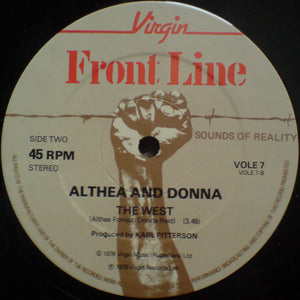 Althea And Donna ‎– Going To Negril