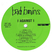 Load image into Gallery viewer, Bad Brains ‎– I Against I