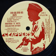 Load image into Gallery viewer, Brother D with Collective Effort ‎– Dib-Be-Dib-Be-Dize / How We Gonna Make The Black Nation Rise?