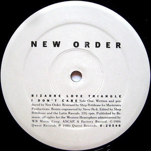 New Order ‎– Bizarre Love Triangle