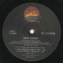Load image into Gallery viewer, New Order ‎– Blue Monday 1988