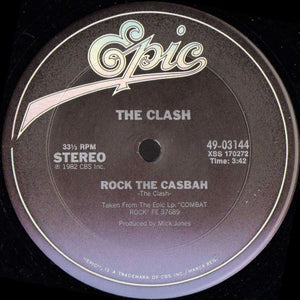 The Clash ‎– Rock The Casbah