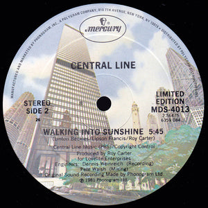 Central Line - Walking Into Sunshine