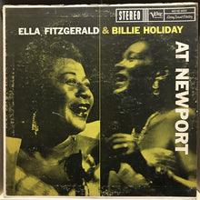 Load image into Gallery viewer, Billie Holiday & Ella Fitzgerald - Live at Newport