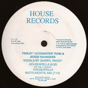 "Farley ""Jackmaster"" Funk & Jessie Saunders ‎– Love Can't Turn Around (Remix)"