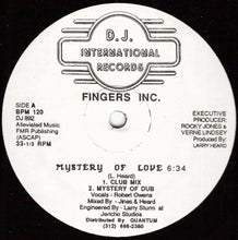 Load image into Gallery viewer, Fingers Inc. ‎– Mystery Of Love