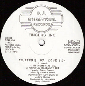 Fingers Inc. ‎– Mystery Of Love