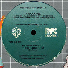Load image into Gallery viewer, Gino Soccio - S Beat / I Wanna Take You There (Now)