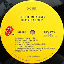 Load image into Gallery viewer, The Rolling Stones - Goats Head Soup