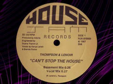 Load and play video in Gallery viewer, Thompson & Lenoir ‎– Can't Stop The House