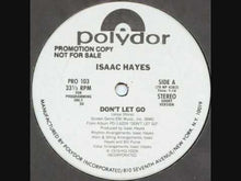 Load and play video in Gallery viewer, Isaac Hayes - Don't Let Go 12""