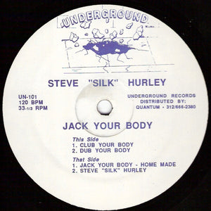"Steve ""Silk"" Hurley ‎– Jack Your Body"