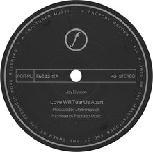 Load image into Gallery viewer, Joy Division ‎– Love Will Tear Us Apart