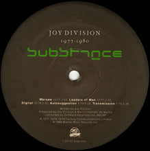 Load image into Gallery viewer, Joy Division ‎– Substance