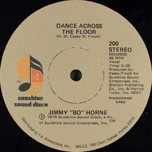 "Load image into Gallery viewer, Jimmy ""Bo"" Horne - Let Me (Let Me Be Your Lover)/Dance Across The Floor 12"""