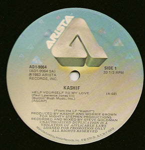 Kashif - Help Yourself To My Love / Instrumental