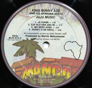 King Sunny Ade and his African Beats - Juju Music