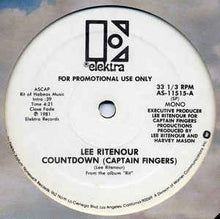Load image into Gallery viewer, Lee Rittenour - Countdown ( Captain Fingers) 12INCH