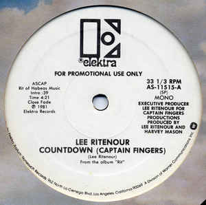 Lee Rittenour - Countdown ( Captain Fingers) 12INCH